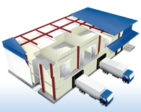 Cold storage warehouse panels | Product Information | Nikkei Panel